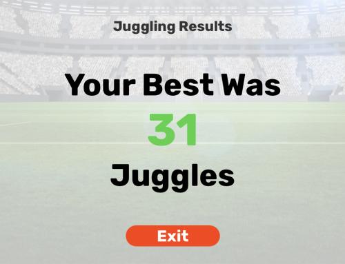 Dribble Up Soccer Juggling App